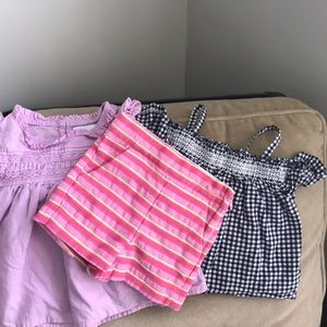 Bundle of Janie and Jack and old navy top